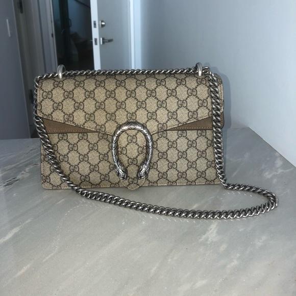 8dacc204eabe Gucci Bags   Dionysus Gg Supreme Shoulder Bag Small   Poshmark